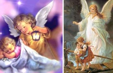 oracion del angel de la guarda para niños pequeños