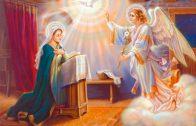 hora de rezar el angelus oraciones catolicas basicas a la virgen maria
